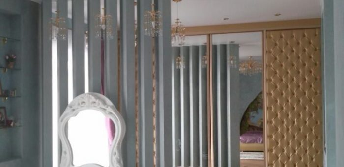 Спальня с элементами прованса