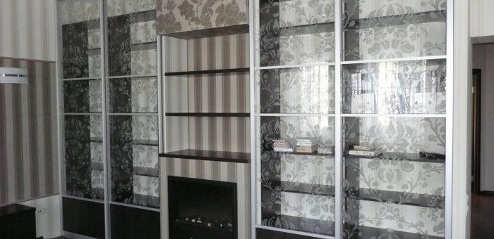 Шкаф для семейной библиотеки