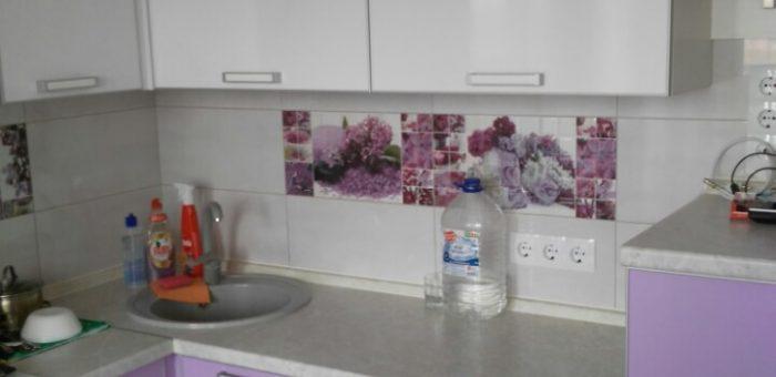 Кухня «Сирень в цвету»