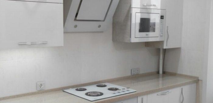 Кухня «Белый глянец»