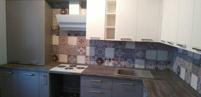 Кухня с «марокканской плиткой»