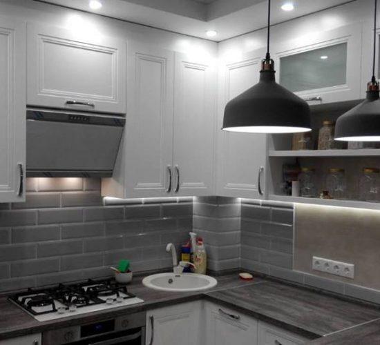 Кухня «Лилит» белая