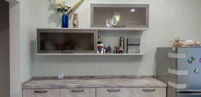 Кухня с параллельным расположением