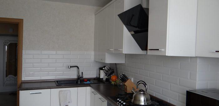 Кухня со встроенными ПМ и СМ