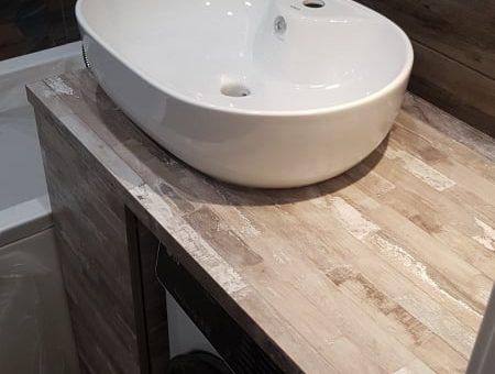 Шкаф под мойку в ванную