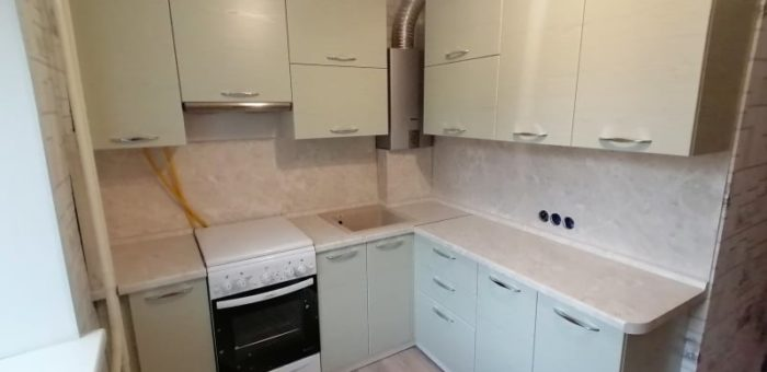 Кухня Штрокс белый