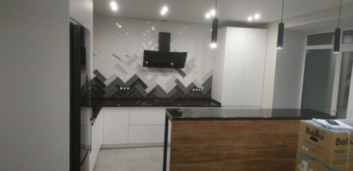 Кухонная зона столовой