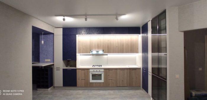 Кухня Индиго – Древесный